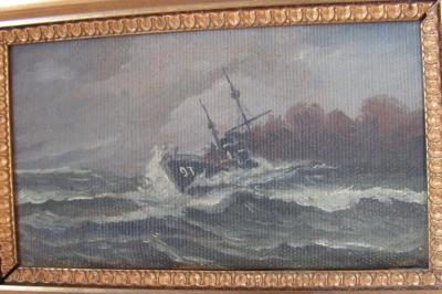 Maleri 4A af Anders E. Hansen