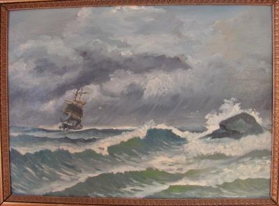 Maleri 5A af Anders E. Hansen